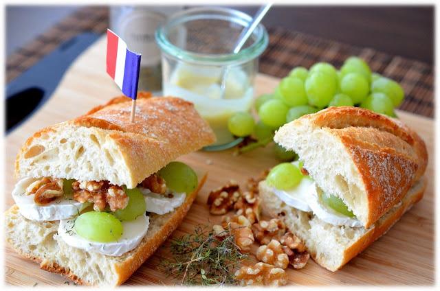 Sandwich, Brot, Streetfood, auf die Hand, Frankreich