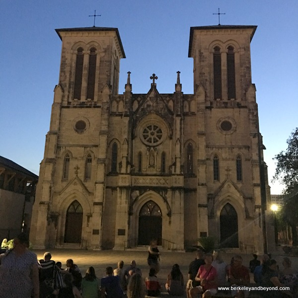 exterior of San Fernando Cathedral in San Antonio, Texas