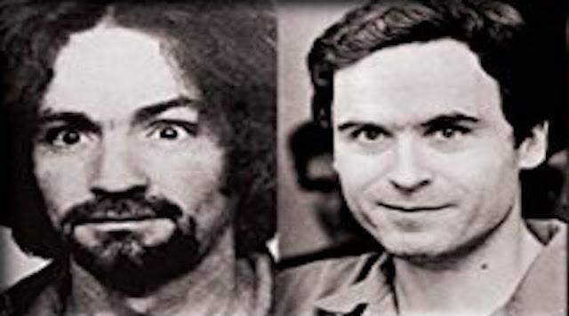 Charles Manson vs. Ted Bundy  PYGEAR.COM