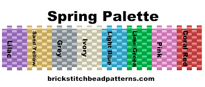 Basic bead palette for spring