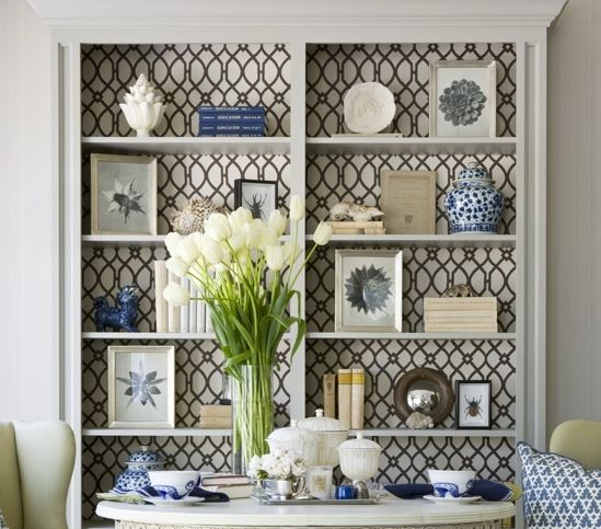 Wallpaper & Wrapping Paper: Creative Uses In Your Home - Driven by Decor