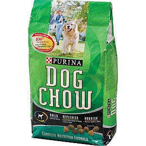 Purina Dog Food Green Bag