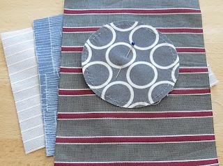 Quilty 365 - Hand applique circles - Work in progress