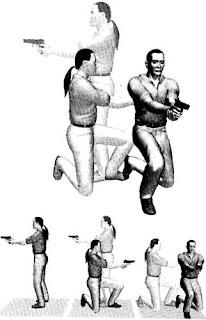 Стрелковая комбинация при стрельбе из пистолета