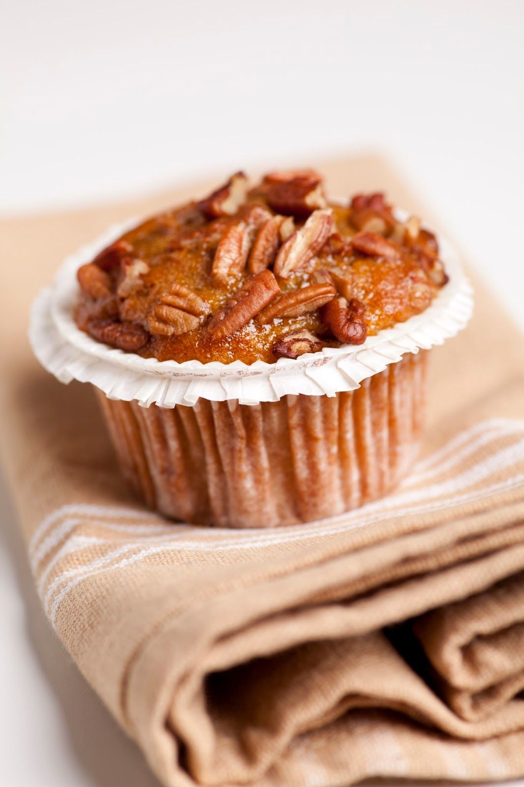 Southern Pecan Pie Muffins - The Country Cook