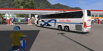 Sumber Alam Scania Touring