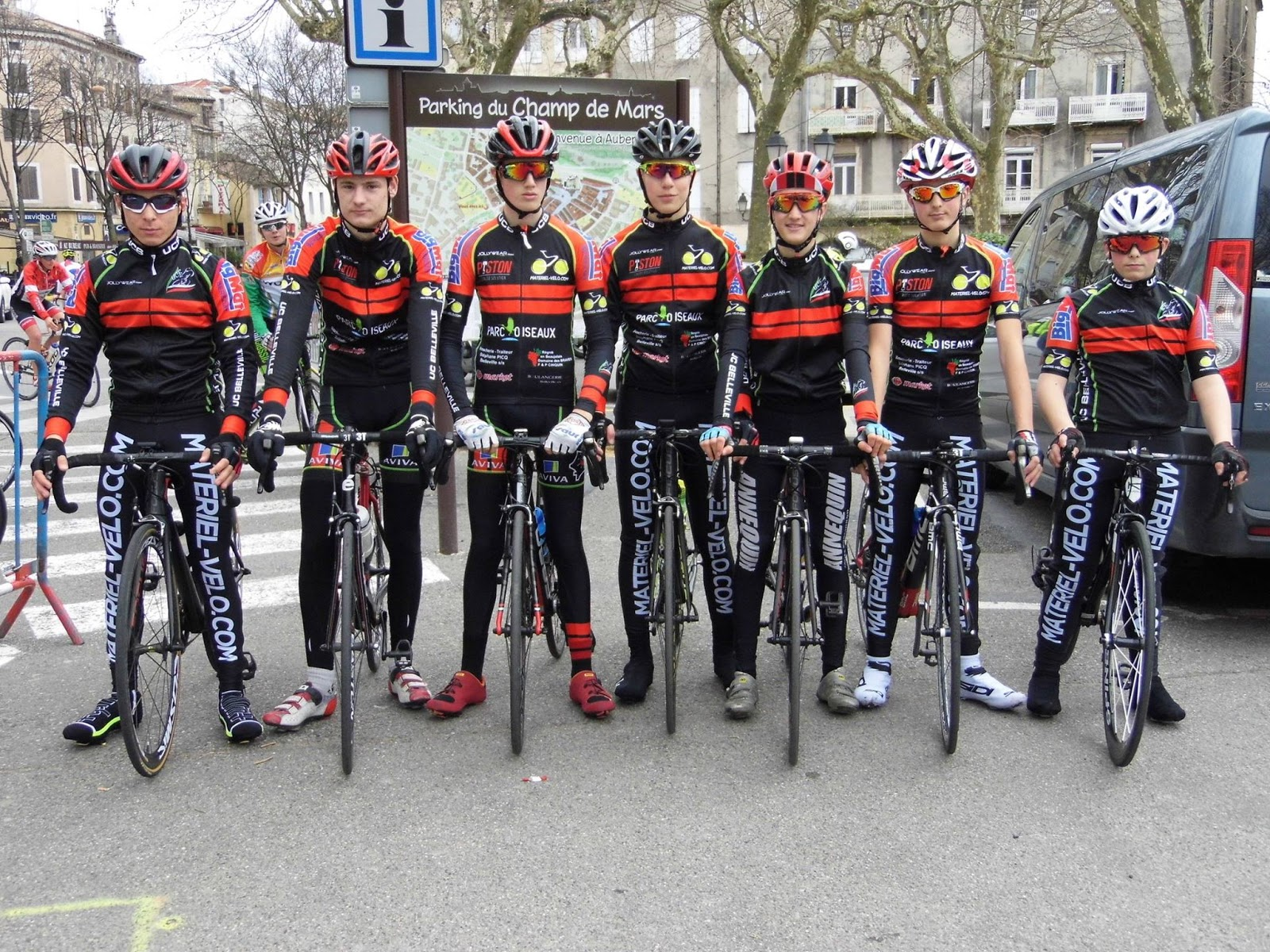 Union cycliste bellevilloise ucb r sultats du week end for Garage peugeot paris nice belleville