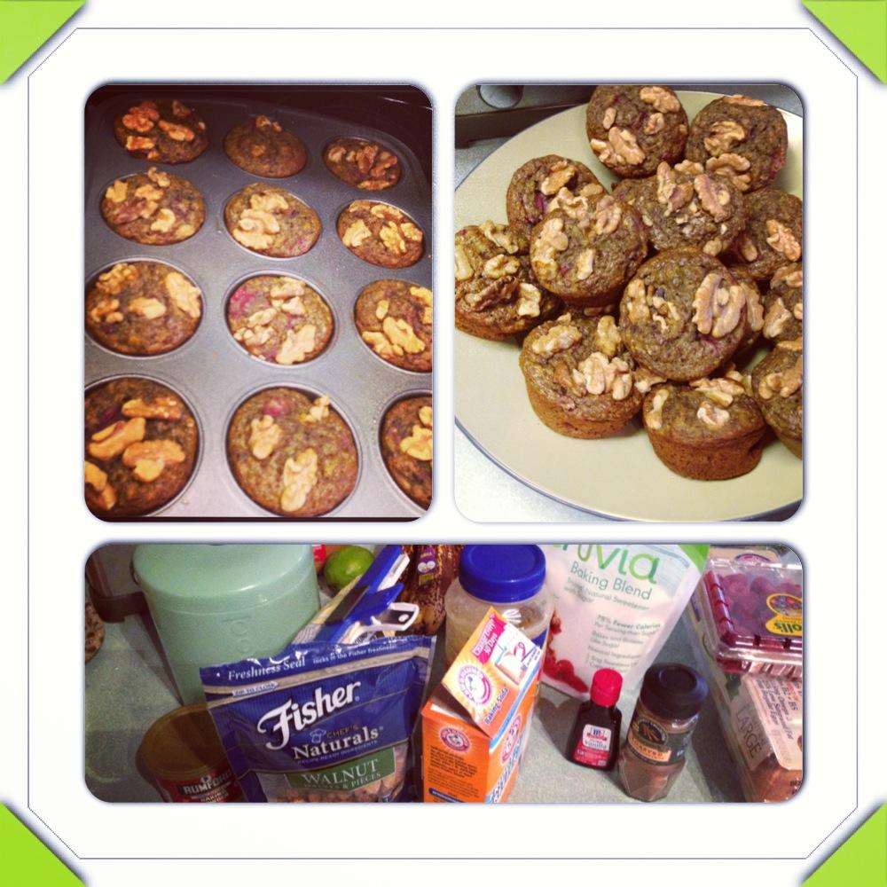 Raspberry And Walnut Kitchen: Eat, Drink & Be Full!: Homemade: Banana Raspberry Walnut