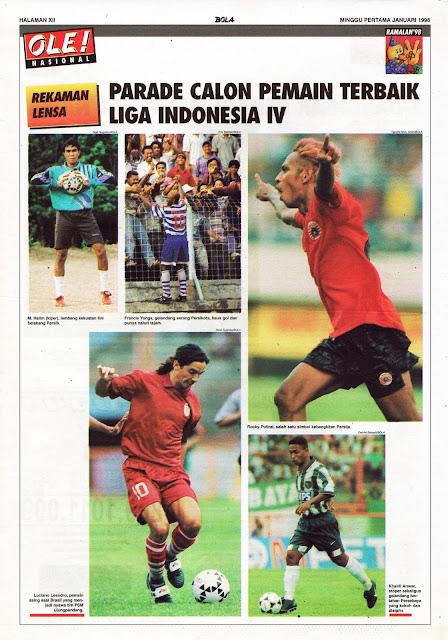PARADE CALON PEMAIN TERBAIK LIGA INDONESIA IV