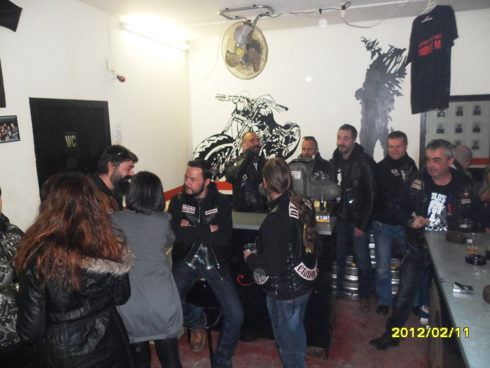 Diablos MC (Motorcycle Club) - One Percenter Bikers |Diablos Motorcycle Club Mentone