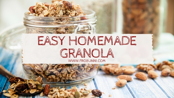 FroBunni | Easy, Homemade Granola