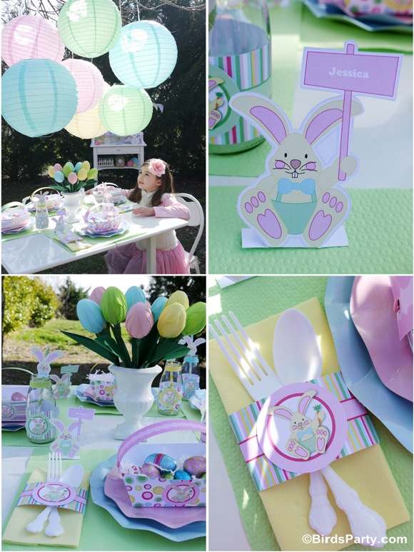 Kid\'s Easter Egg Hunt Party and Printables - Party Ideas | Party ...