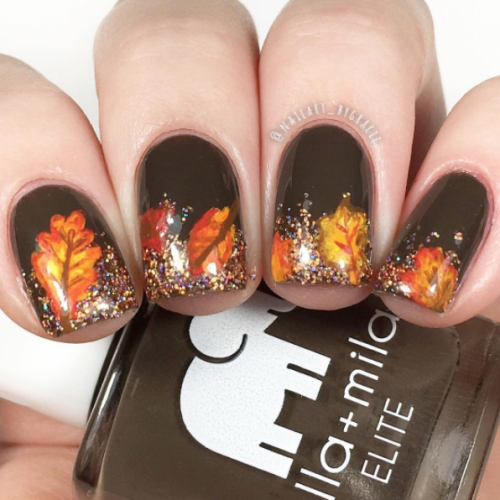 - Autumn Color Nail Art Inspiration!
