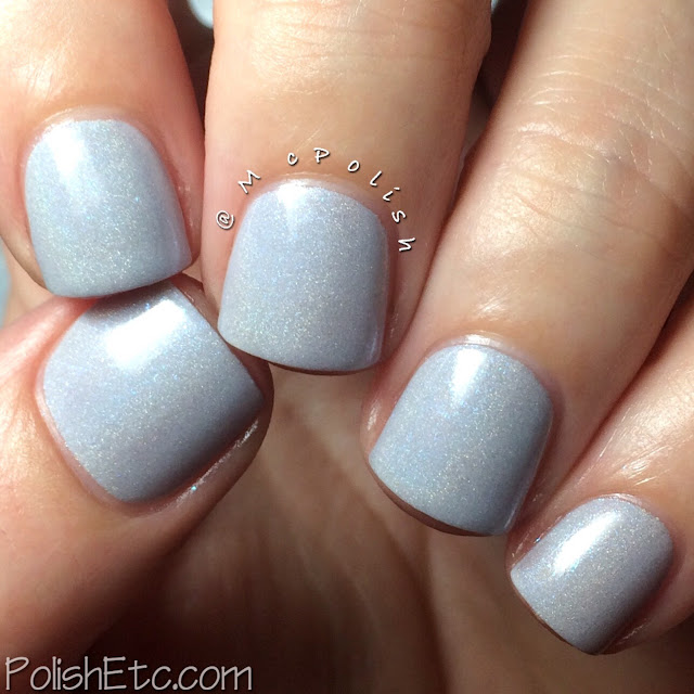 KBShimmer Winter Holos - McPolish - Fleece Navidad