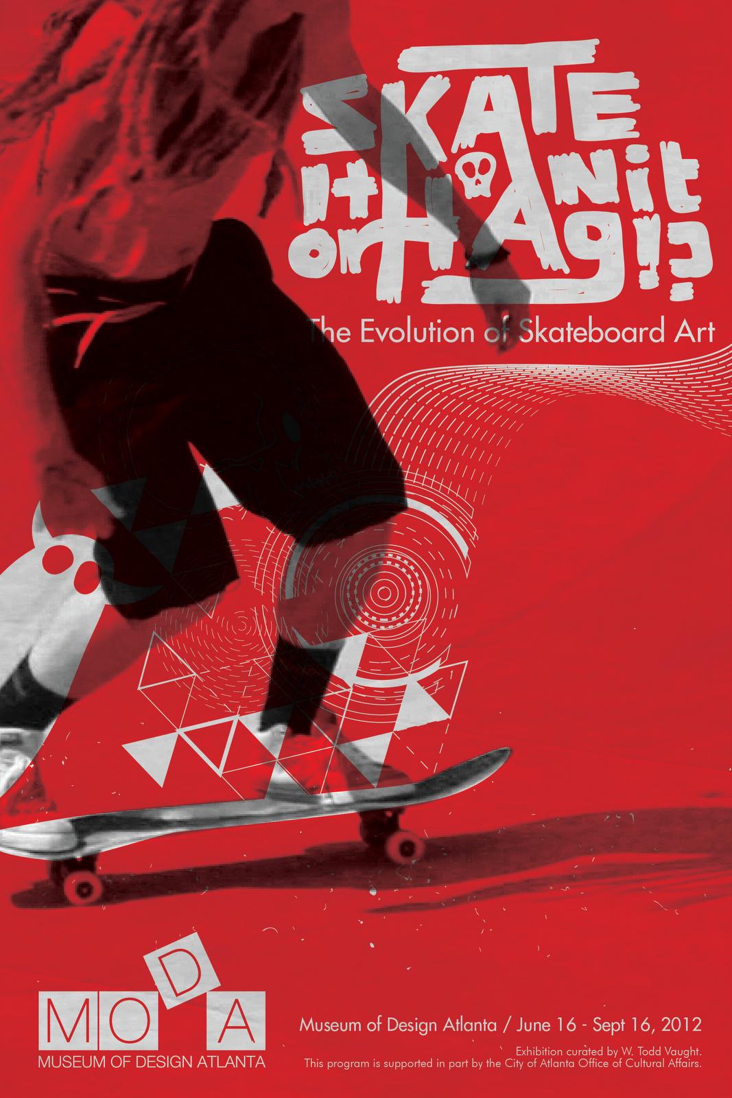 debush.: sweet paint ad + skate posters