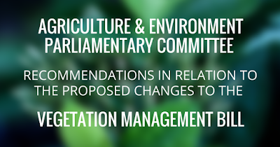 Vegetation Management Bill
