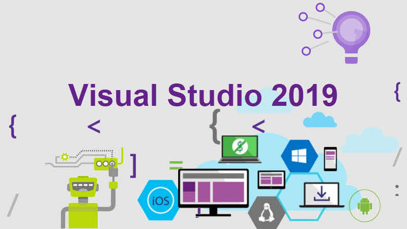 Download latest version of Visual Studio 2019