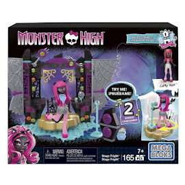MH Skullastic Stage Fright Catty Noir Mega Blocks Figure