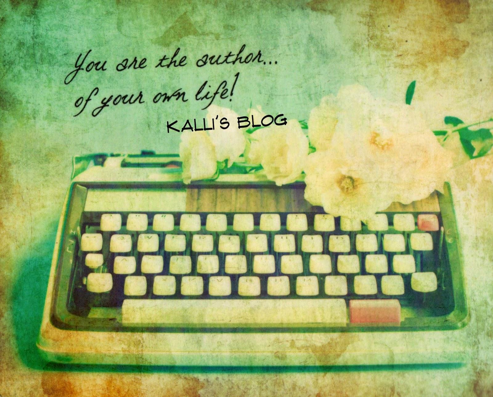 """""""Εσύ είσαι ο συγγραφέας της ζωής σου!"""" ...σκέψεις για το 2015."""