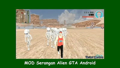 MOD Serangan Alien GTA Android by WARROCK2472