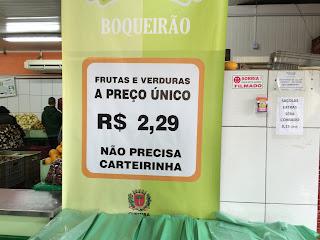 Sacolão em Curitiba
