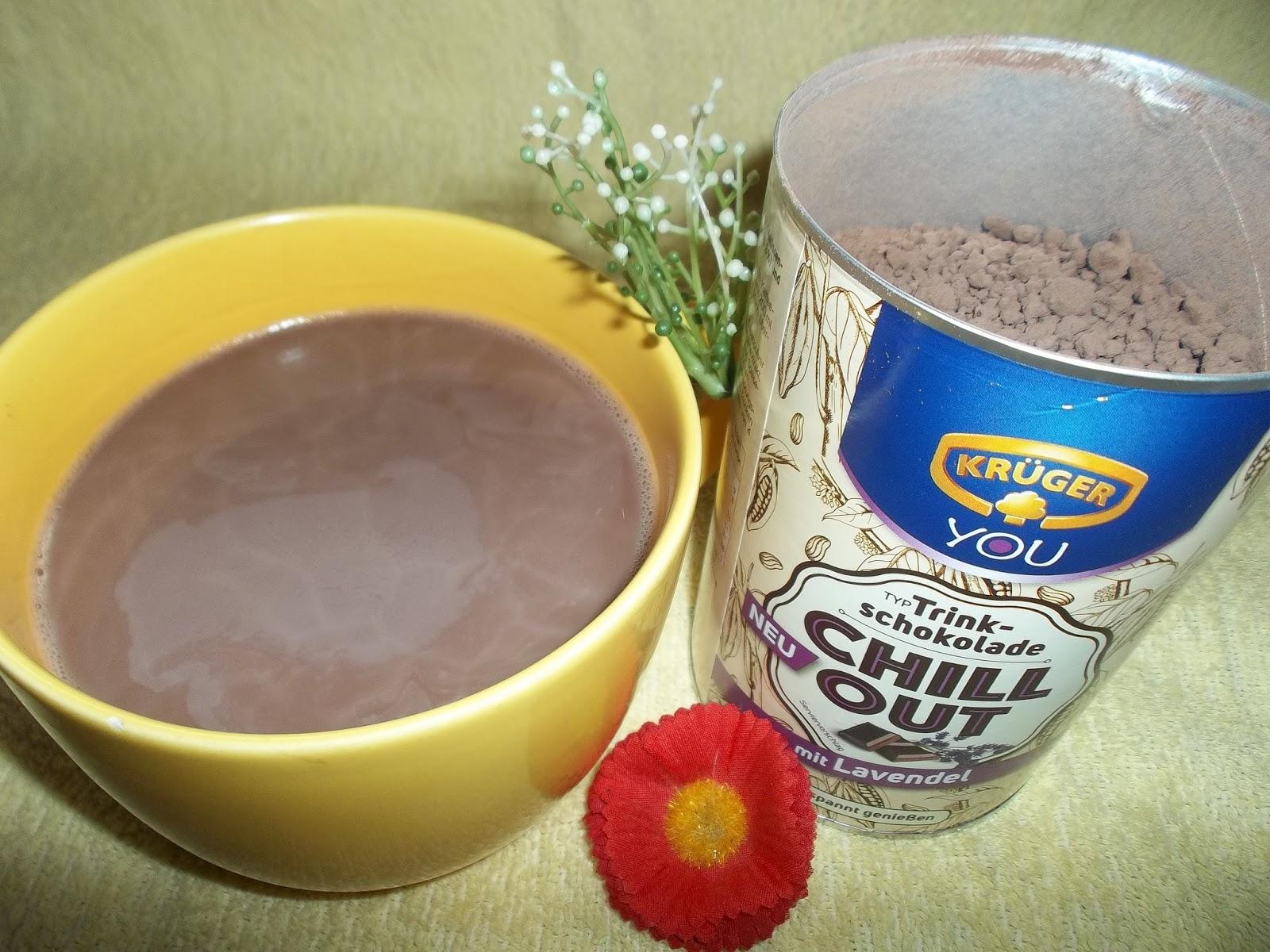 Absolut ehrlich!*****: Trinkschokolade Chill Out Lavendel von Krüger