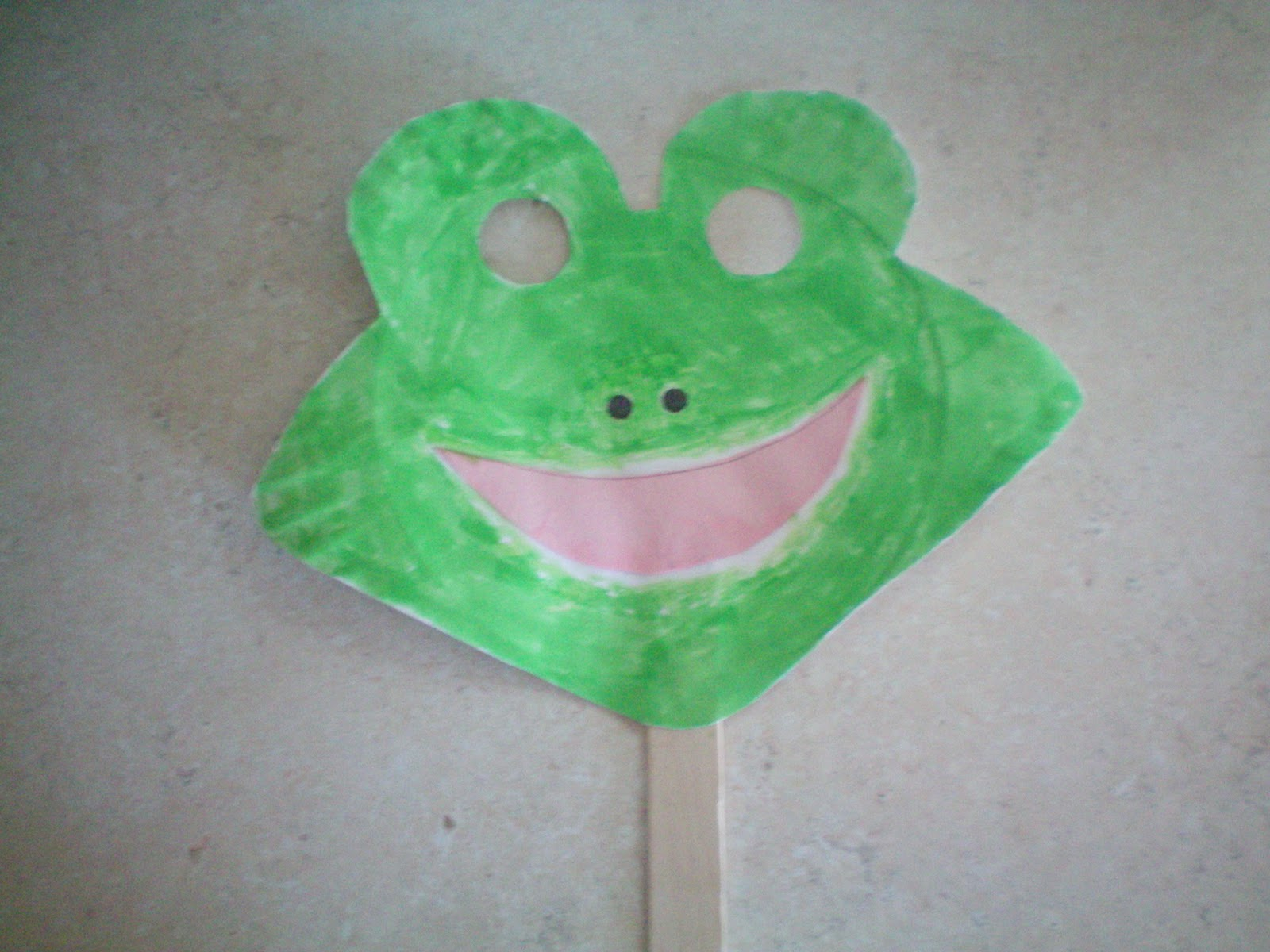 Arizona Families & Arizona Families: Fun Craft ~ Frog Mask
