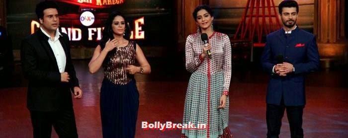 Krishna Abhishek, Mona Singh, Sonam Kapoor, Fawad Khan, Sonam Kapoor in Amazing Dress - Pics from EKLKBK