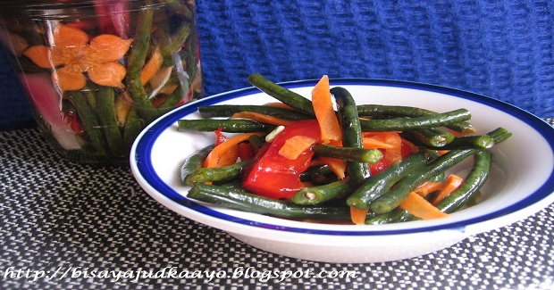 Atcharang Sitao (Pickled Long Beans) Recipe