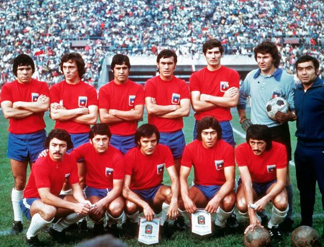 Formación de Chile ante Perú, Clasificatorias Alemania Federal 1974, 13 de mayo de 1973