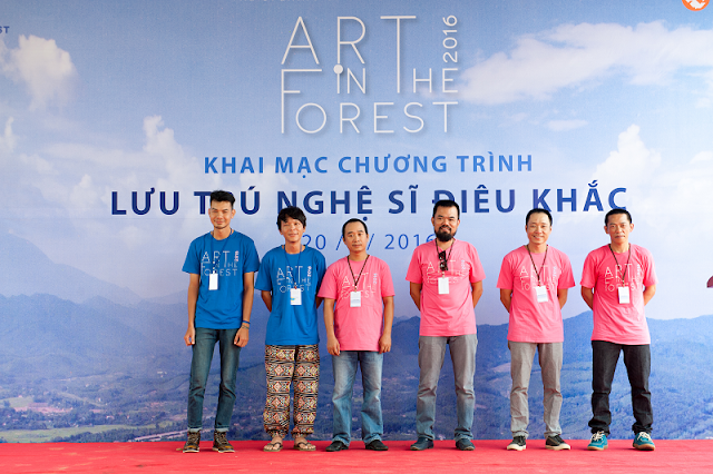 le khai mac art in the forest