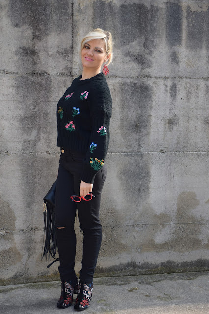 black skinny jeans how to wear black skinny jeans how to match skinny jeans  mariafelicia magno fashion blogger color block by felym fashion bloggers italy italian fashion bloggers february outfit casual winter outfit