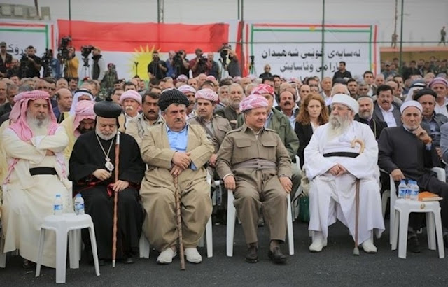 kurdistan in tum etnik ve dini gruplari ndan referanduma destek