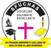 Academic Job Opportunities at St. Francis University College of Health and Allied Sciences December, 2018