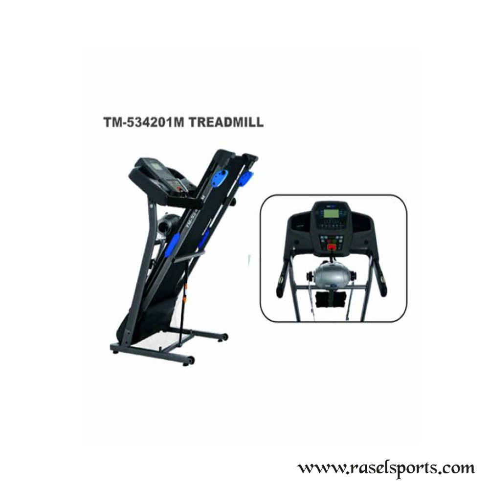 Multifunction Motorized Treadmill TM-534201M