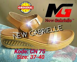 Sepatu Sandal wanita terkini NewGabrielle