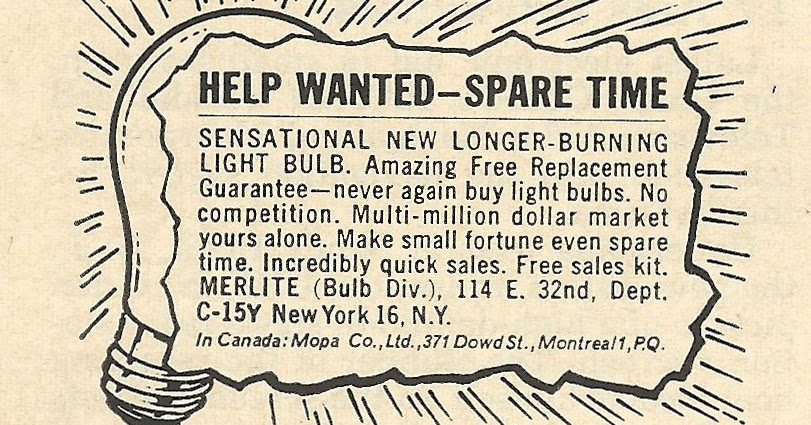 Old Ads Are Funny 1962 Ad Sensational New Longer Burning