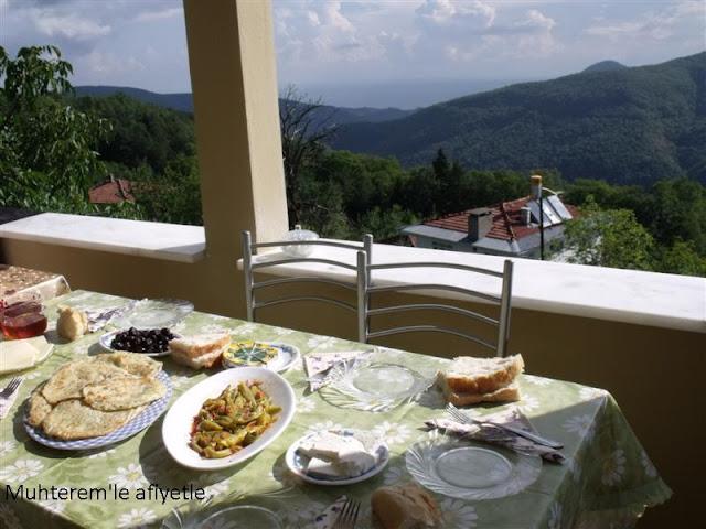 köyde kahvaltı