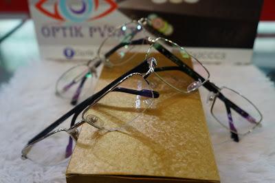 Koleksi Optik PVSAT (Frame, sunglases dan Softlens)