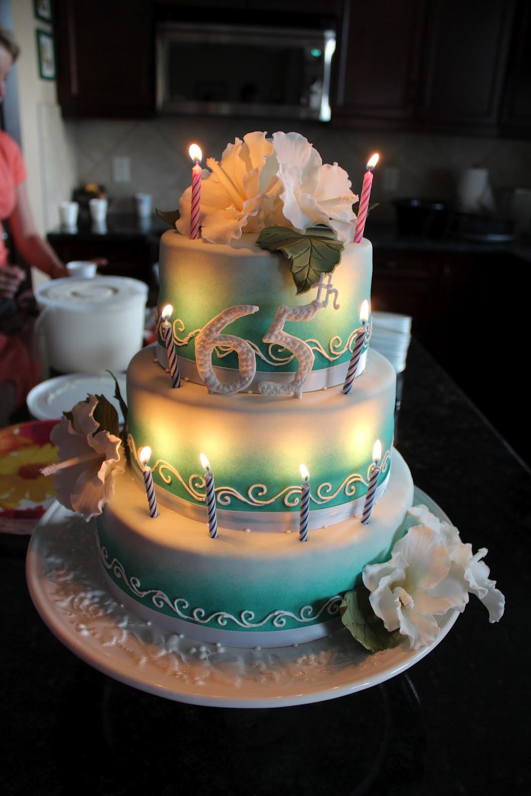 Happy Birthday Men 65th Cakes