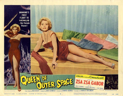 Queen Of Outer Space 1958 Zsa Zsa Gabor Image 5