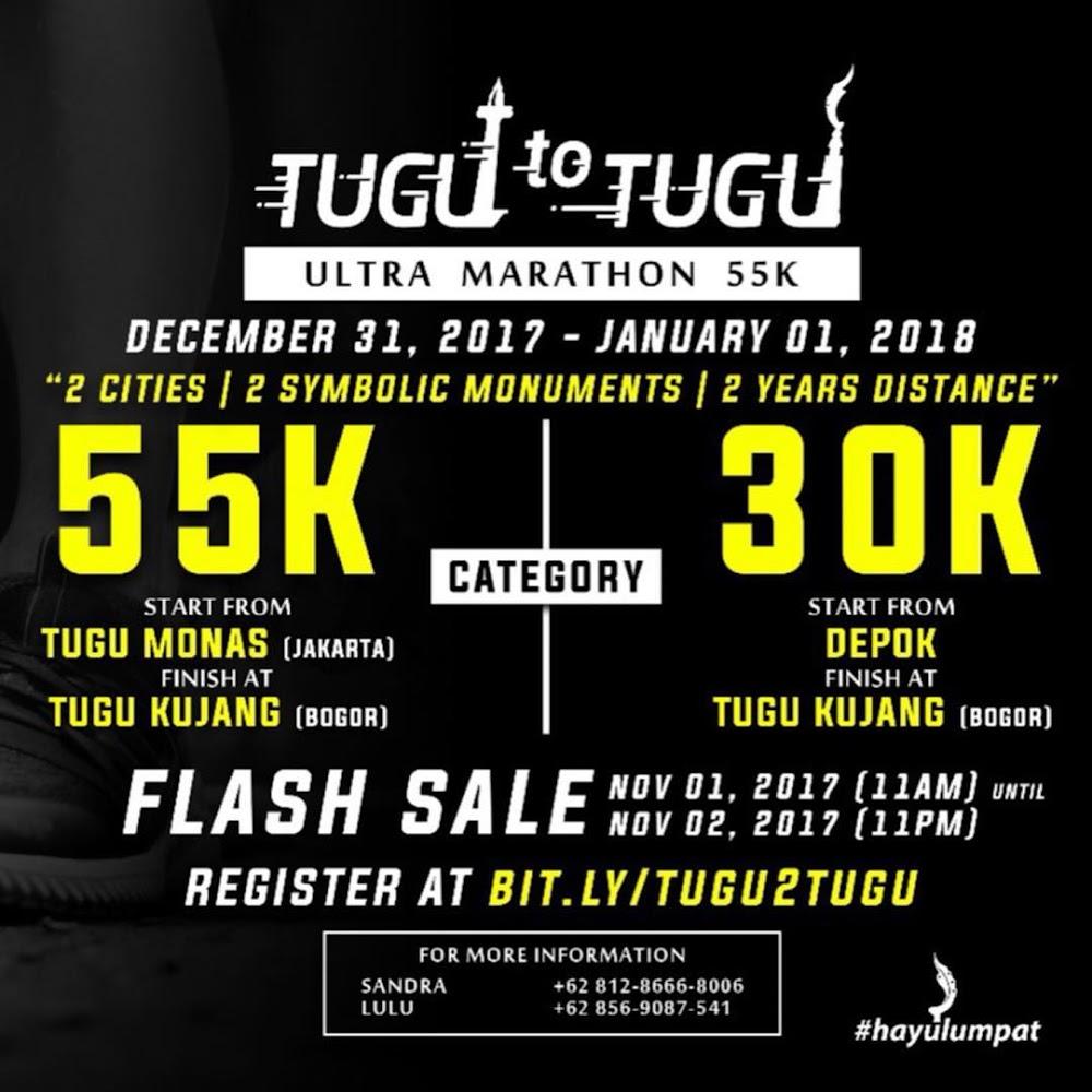 Tugu to Tugu Ultra Marathon • 2017