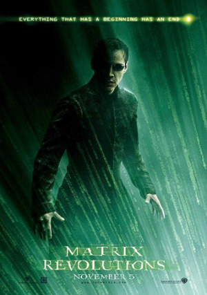 Poster Matrix Revolutions 2003