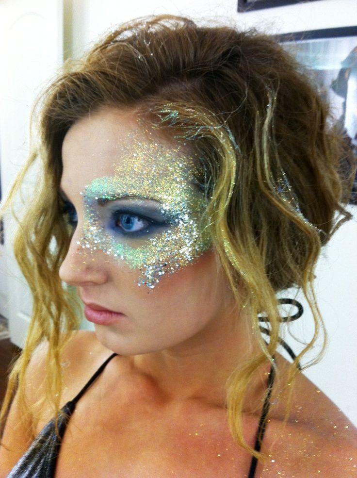Avant Garde Princess Halloween Makeup