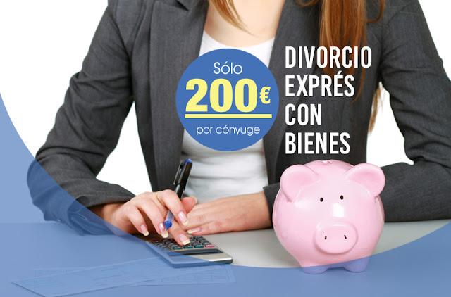 Divorcio Exprés con bienes