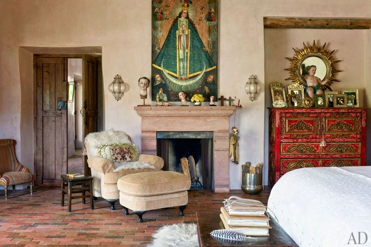I love the rustic antiques, and wonderful Spanish Colonial artifacts.