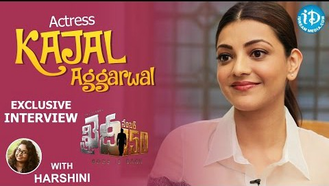 Actress Kajal Aggarwal Exclusive Interview About Khaidi No 150