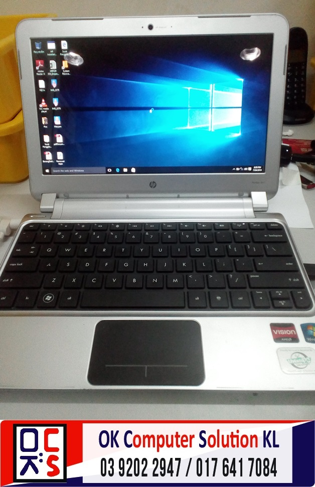 [SOLVED] FORMAT BACKUP HP PAVILLION DM1 | REPAIR LAPTOP CHERAS4