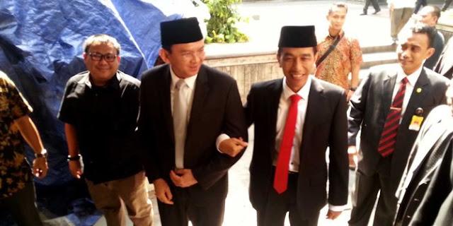 Lembaga Survei Akan Menyeret Jokowi Bernasib Sama Seperti Ahok