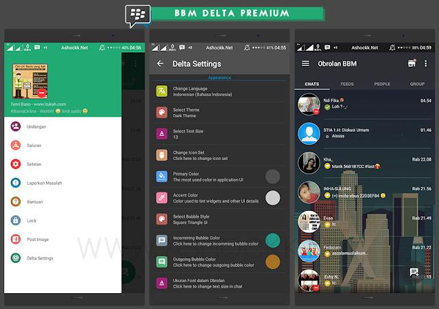 BBM Delta V2.8 Based V2.10.0.51 Apk Not Clone